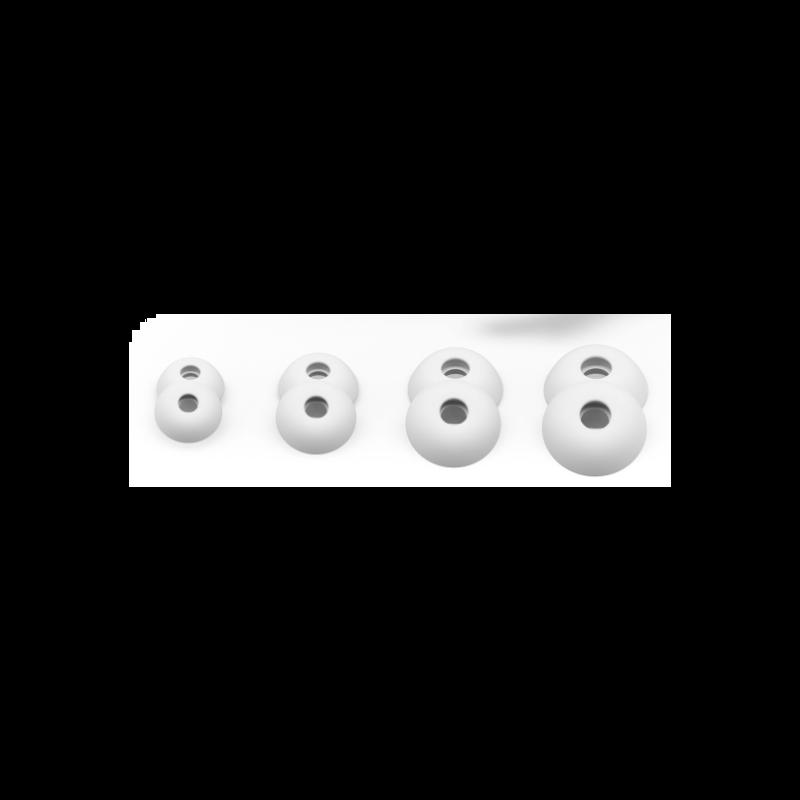Fem White eartips