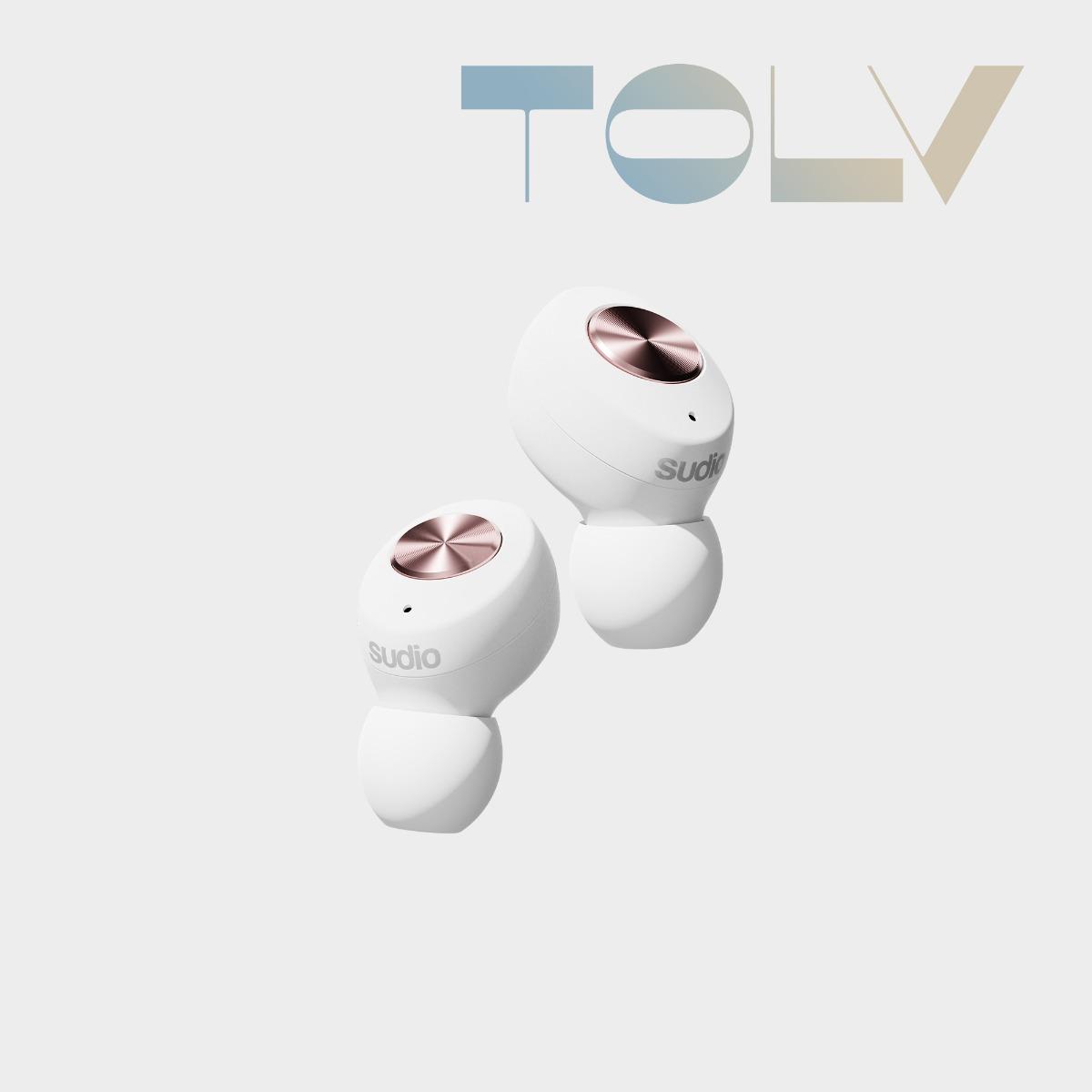 Sudio Tolv 入耳式耳机 蓝牙耳机 无线 石墨烯驱动